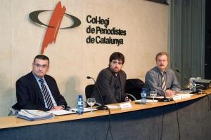 Albert Roura, Àlex Gutiérrez i Manuel Campo