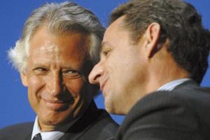 Villepin i Sarkozy